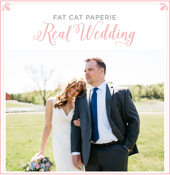 Real_Wedding: Katie and Rich | Photos of Fat Cat''s Art Director's rustic barn wedding