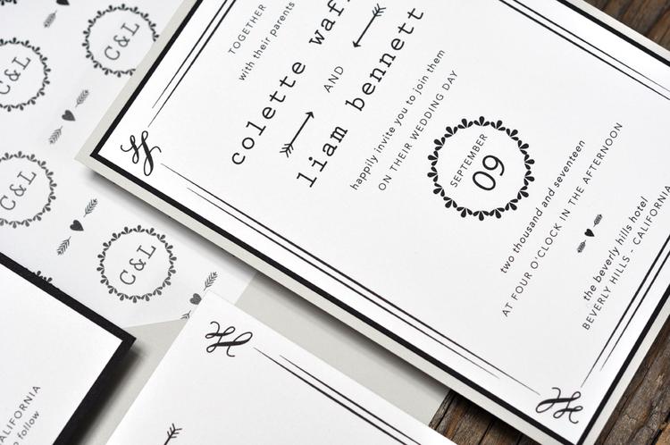 Envelope Liner | B.T.Elements | Monogram Liner