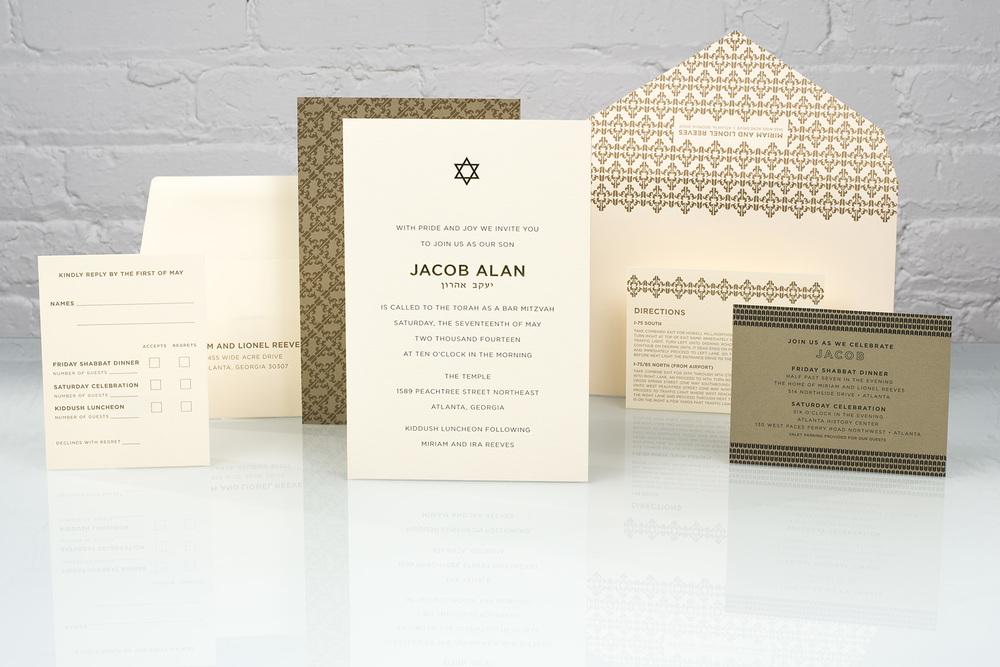 Spark, Jacob | Mitzvah Invitation