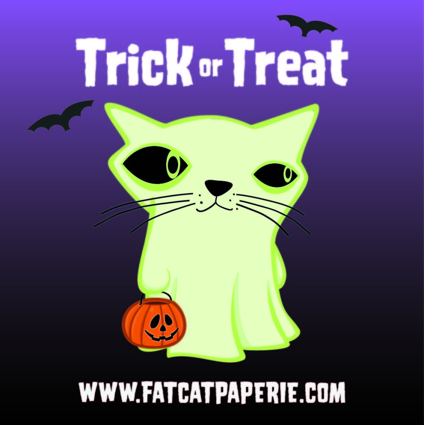 Happy Halloween | Fat Cat Ghost | Trick or Treat