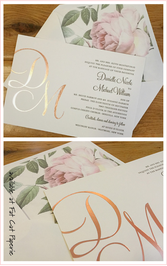Looks We Love | Rose Gold and Roses