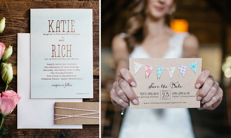 2015 Favorites: Part 2 | KATIE and RICH's invitation and save the date
