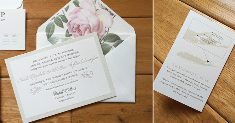 2015 Favorites: Part 2 | NICOLEandMATTHEW's romantic rose invitation