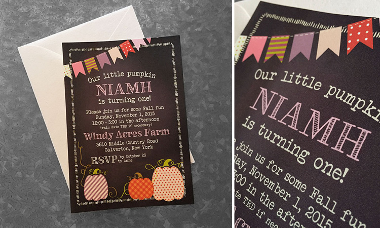 Niamh's Birthday Invitation