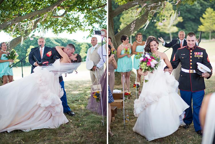 Barn Wedding | Outdoor Ceremony