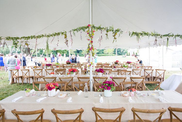 Barn Wedding | Seating, Tent, Florals