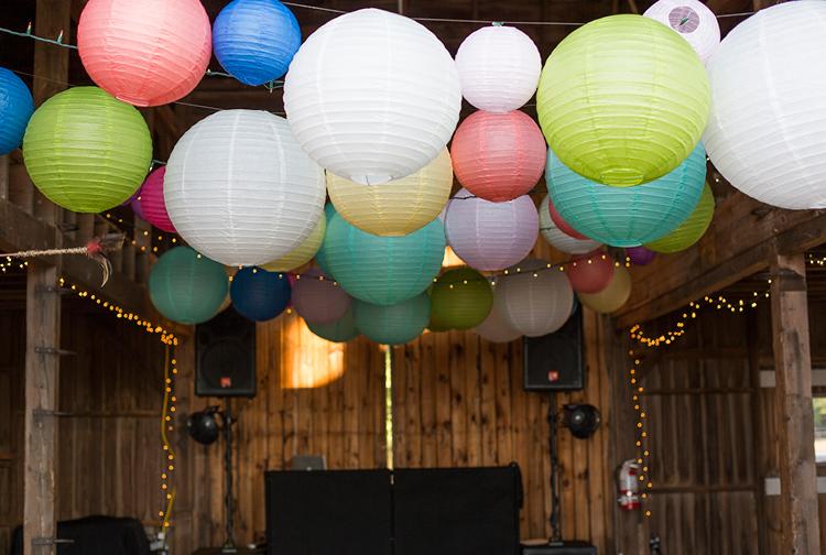 Barn Wedding | Details | Paper Lanterns