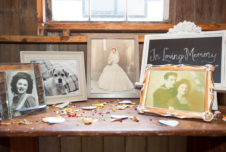 Barn Wedding | In Memory Photos