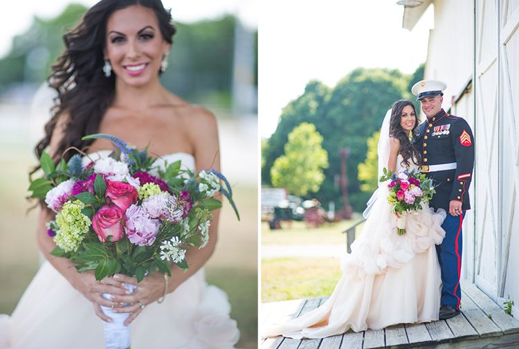 Rustic Wedding | Bride and Groom