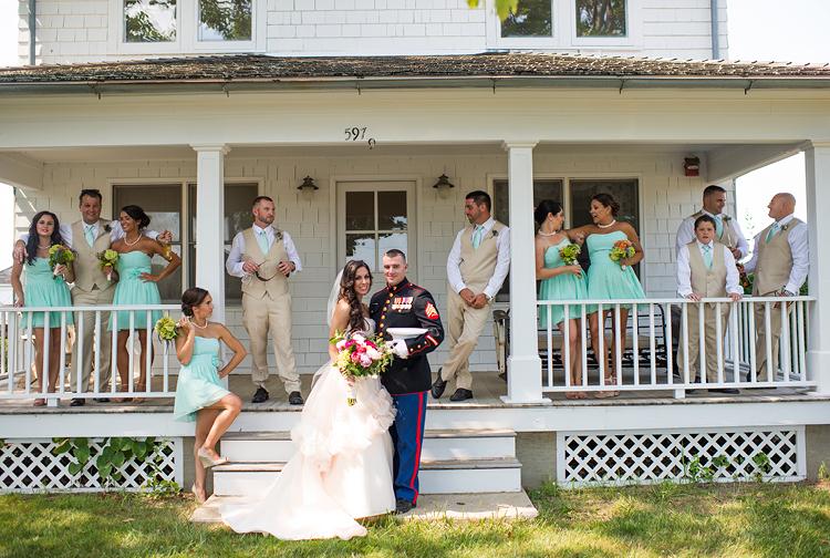 Rustic Wedding | Wedding Party