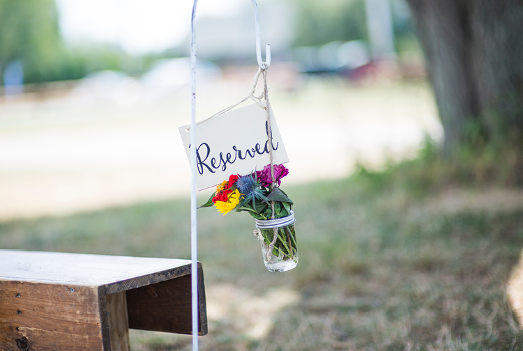 Barn Wedding | Outdoor Ceremony | Reserved Sign