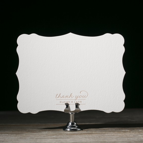 Charlotte by Bella Figura | Diecut Thank you note