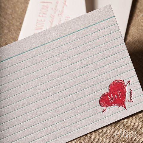 Love Note by Elum | Doodle Notecard