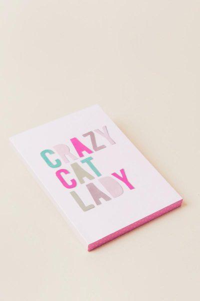 Crazy Cat Lady Journal