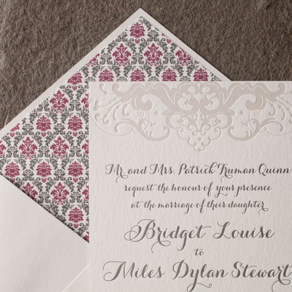 traditional with a twist wedding invitations