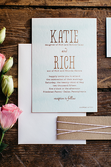 Katie+Rich by Fat Cat Paperie