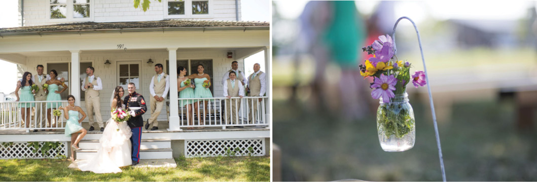 Deanna+Jason, Borrowed & Blue, Wedding Photo, Hallockville Museum Farm