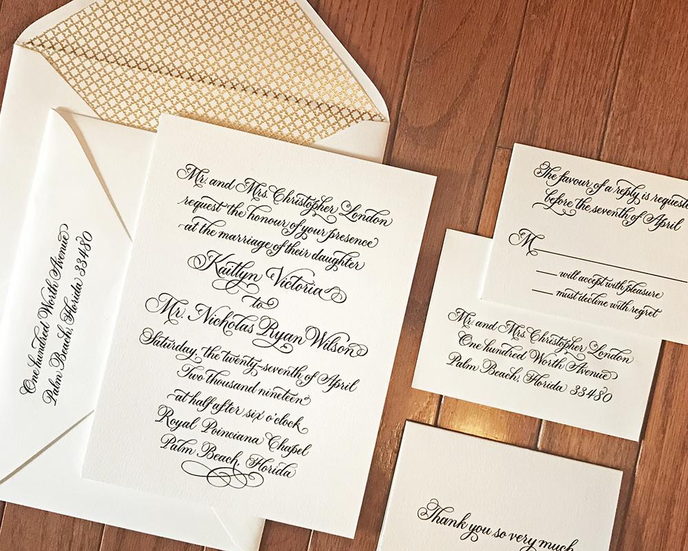 Wedding Invitation Printing North London | Wedding Invitation