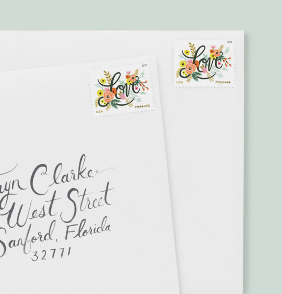 Rifle Paper Stamps, Floral Postage Stamps