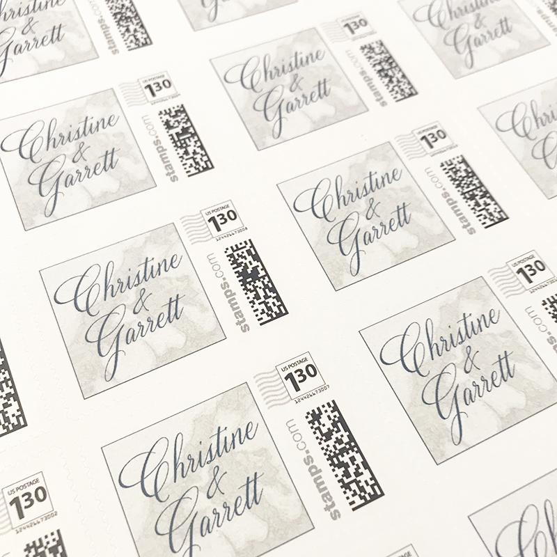 Let's Talk Stamps - Fat Cat Paperie